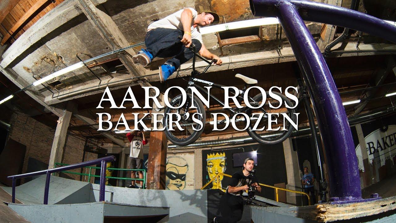 The Baker's Dozen with Odyssey BMX Pro Aaron Ross