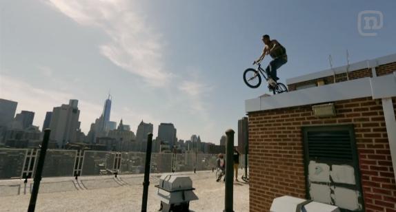 BMX Street Rider Desmond Rhodes – The King Of NYC Streets: Asphalt NYC