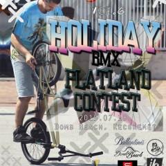 Holiday BMX Flatland Contest Domb Beach Kecskemet